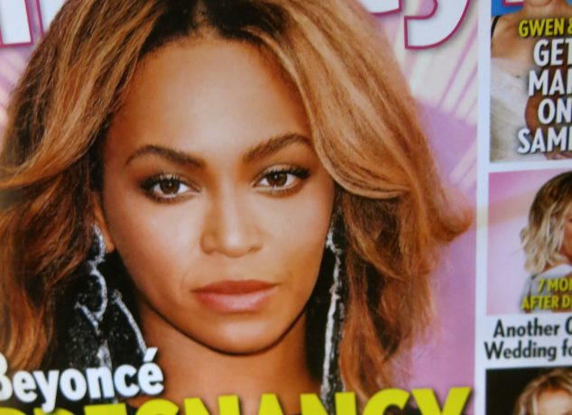 Beyoncé pregnancy magazine cover